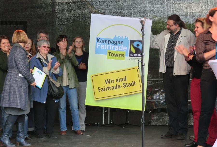 Fairtrade-Stadt-Banner
