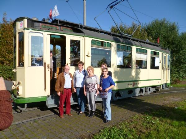 Tramrundfahrt zum Fairen Handel in Mainz