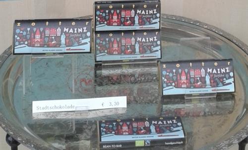 Stadtschokolade im Mainzer Weltladen