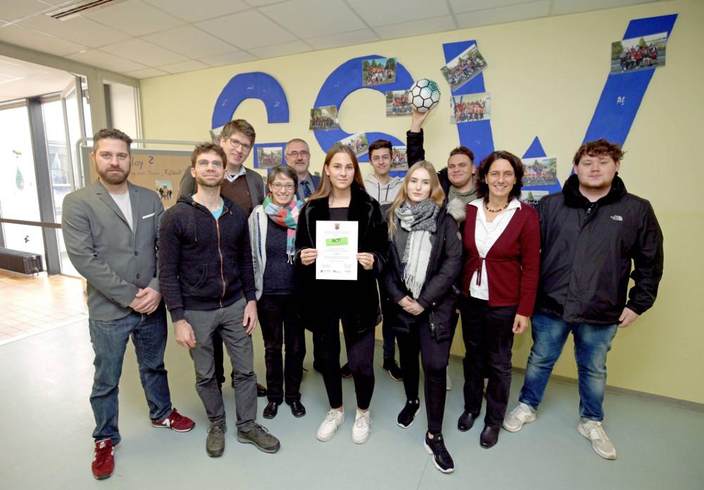 Gustav-Stresemann-Wirtschaftsschule ACT Schulpreis