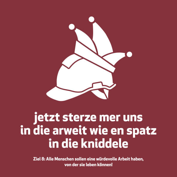Meenzer Woideggel - Arbeit