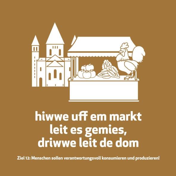 Meenzer Woideggel - Nachhaltiger Konsum
