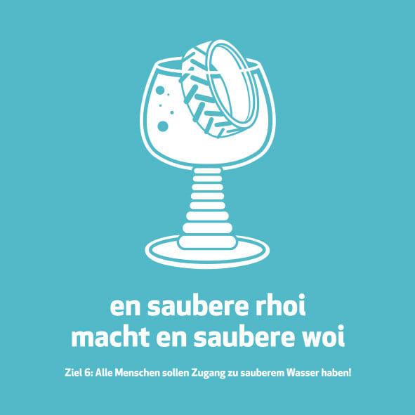 Meenzer Woideggel - Sauberes Wasser